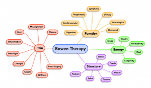 Bowen Therapy diagram